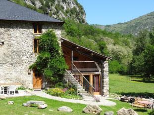 Gîte rural dix personnes Ariège Pyrénées