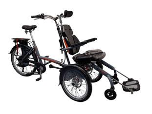 Van Raam Spezial-Dreirad O-Pair Rollstuhlrad 2 finanzieren mit 0% Zinsen bei den Dreirad Experten vom Dreirad-Zentrum  - Dreiräder und Elektro-Dreiräder für Erwachsene