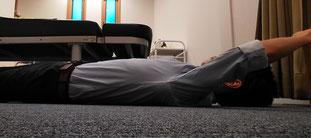腰椎椎間板ヘルニアで起き上がりに痛い奈良県大和高田市の男性