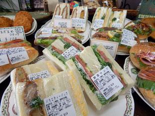 横浜市 中区 末吉町 手作りパン パン工房 カメヤ サンドイッチ ドッグパン