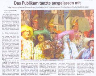 Der Wiesbadener Kurier schrieb: