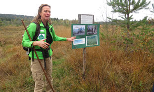 Exkursion mit Birgit Weis, Foto: Andrea Arends