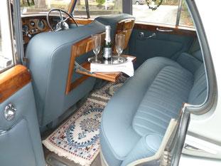Rolls Royce von innen