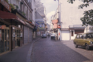 Paris Rue Mouffetard