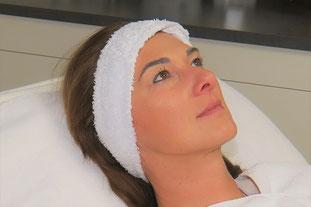 Microdermabrasion Gesichtsbehandlung