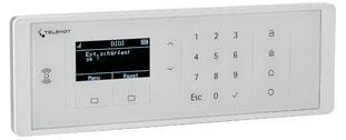 Funk-Bedienteil FBT 250 (weiß) von Telenot, presented by SafeTech