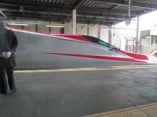 仙台駅、この子は北へ向かいます