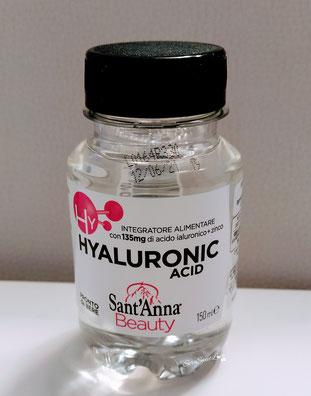 integratore alimentare con acido ialuronico e zinco Sant'Anna sopra il tavolo