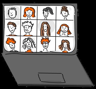 Claudia Karrasch, Seminar, Training, Coaching, Schulung, Webinar, Online-Training, Bonn, Telefontraining, Kommunikationstraining, Kundenservice, Beschwerdemanagement, Fümunikationstraining, Kundenservice, Beschwerdemanagement, Visualisieren, Flipchart