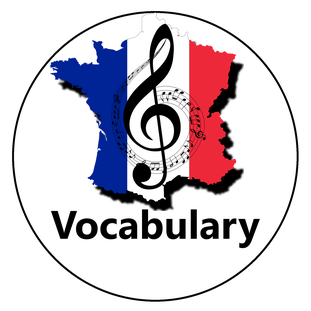 French Vocabulary - Le Vocabulaire en francais - Der Französische Wortschatz - El vocabulario en frances