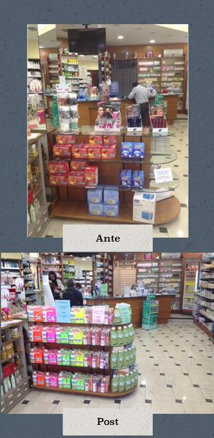 gestione gondola in farmacia