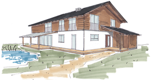 Treibholzhaus 145 m²
