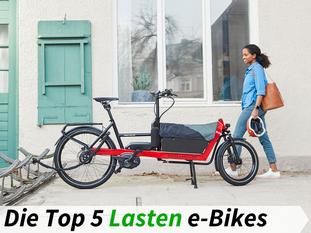 Die besten Lasten e-Bikes 2019