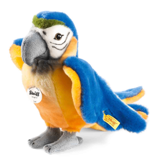Maskottchen Papagai Stofftier Steiff