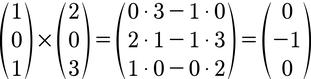 Berechnung des Spannvektors