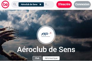 AeroClub de Sens est membre de BeSport.com