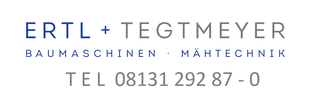 Bild: Telefonnummer Ertl + Tegtmeyer Baumaschinen