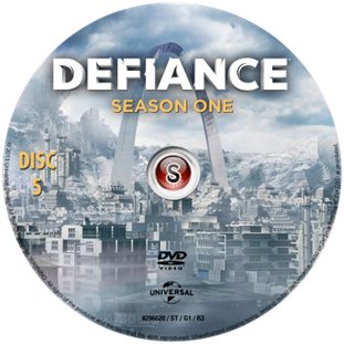 Defiance Cover DVD 5