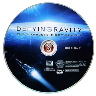 Defying Gravity  Cover DVD 1