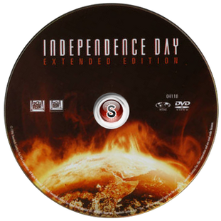 Independence day Cover DVD