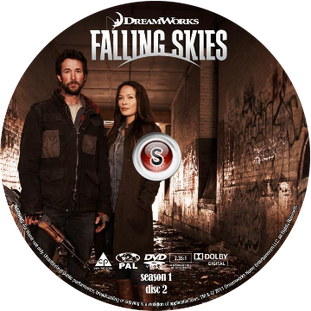 Falling Skies Cover DVD disc 2