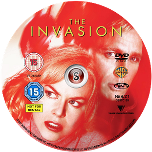 The Invasion Cover DVD
