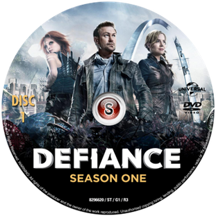 Defiance Cover DVD 1
