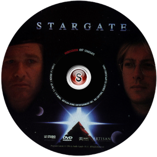 Stargate - Cover DVD