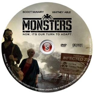 Monsters Cover - DVD