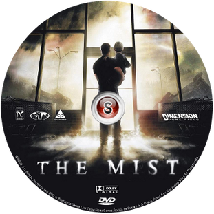 The mist Cover DVD