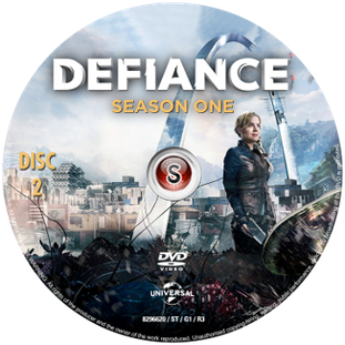 Defiance Cover DVD 2