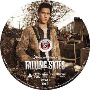 Falling Skies Cover DVD disc 3