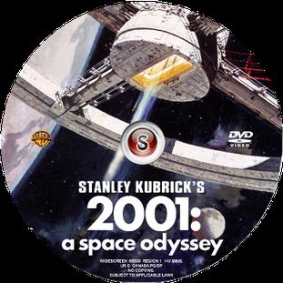 2001: odissea nello spazio Cover DVD