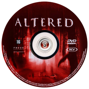Altered Cover DVD