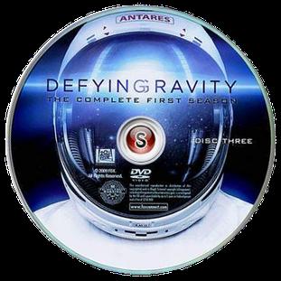 Defying Gravity  Cover DVD 3