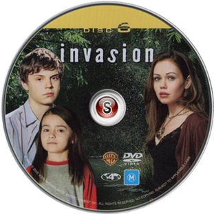 Invasion Cover DVD Disc 6