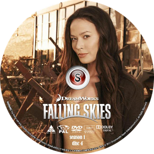 Falling Skies Cover DVD disc 4