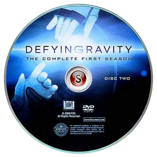 Defying Gravity  Cover DVD 2