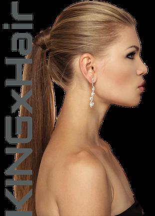 Pony Tail, Haarzopf, Haarextension, Extension, Haarverlängerung, Haarverdichtung, Kingxhair, Chaarmant