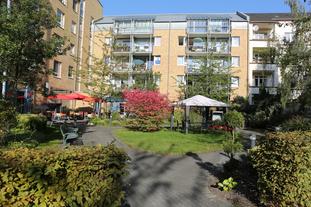 SeidenCarré Krefeld betreutes Wohnen Garten
