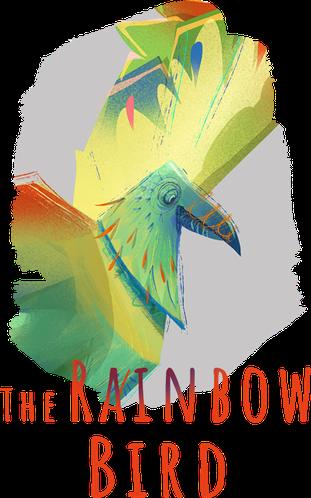 The rainbow bird project illustration