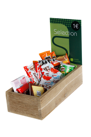snack-Vielfal in unserer Selectionbox