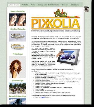 Pixxolia Bildbearbeitungsservice