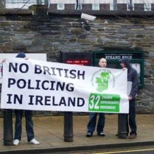Opposition til Sinn Féins aktuelle politik