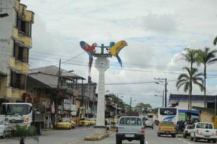 Centre de Puyo, porte d'entrée de l'Amazonie