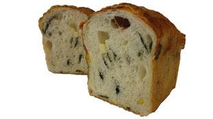 ほうれん草とベーコンのチーズパン
