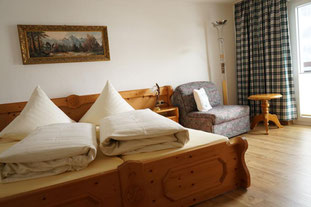 Schlafzimmer unserer Ferienwohnung 11