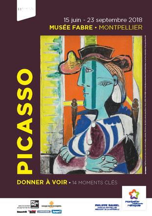 Boutique de l'exposition Picasso, Musée Fabre