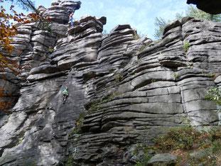 Greifensteine bei Geyer/Erzgebirge