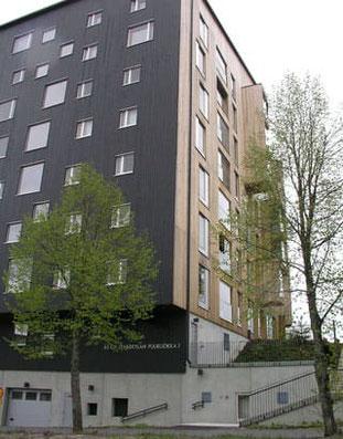 Holzhochhaus  in Jyväskylä - Foto M. S.